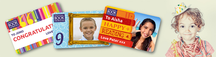 Personalised giftcards for kids and teens